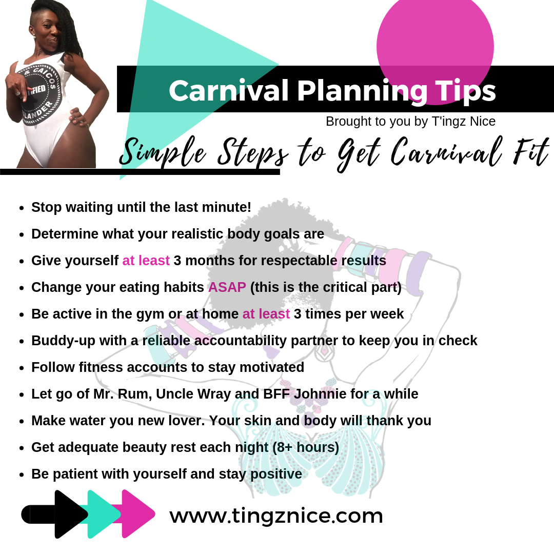 Tips for getting carnival fit