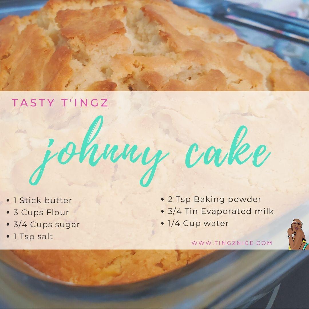 Turks and Caicos Johnny Cake